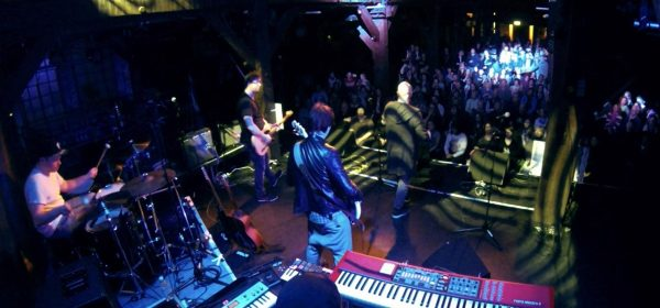 onstage at the famous Fabrik, Hamburg