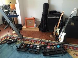 my setup for Papillon Rising