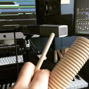 studio fun with Ikea percussions